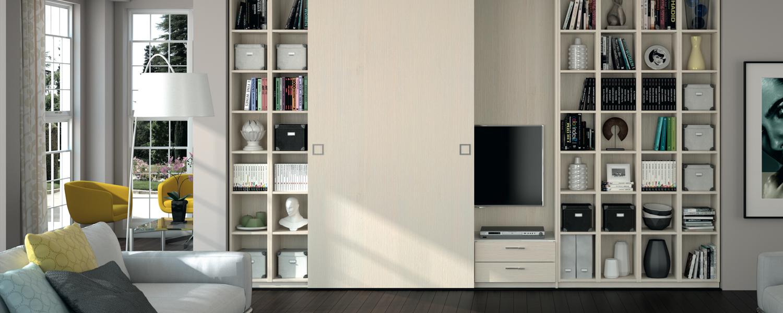 biblioth que design espaces de rangements lyon aya home design. Black Bedroom Furniture Sets. Home Design Ideas