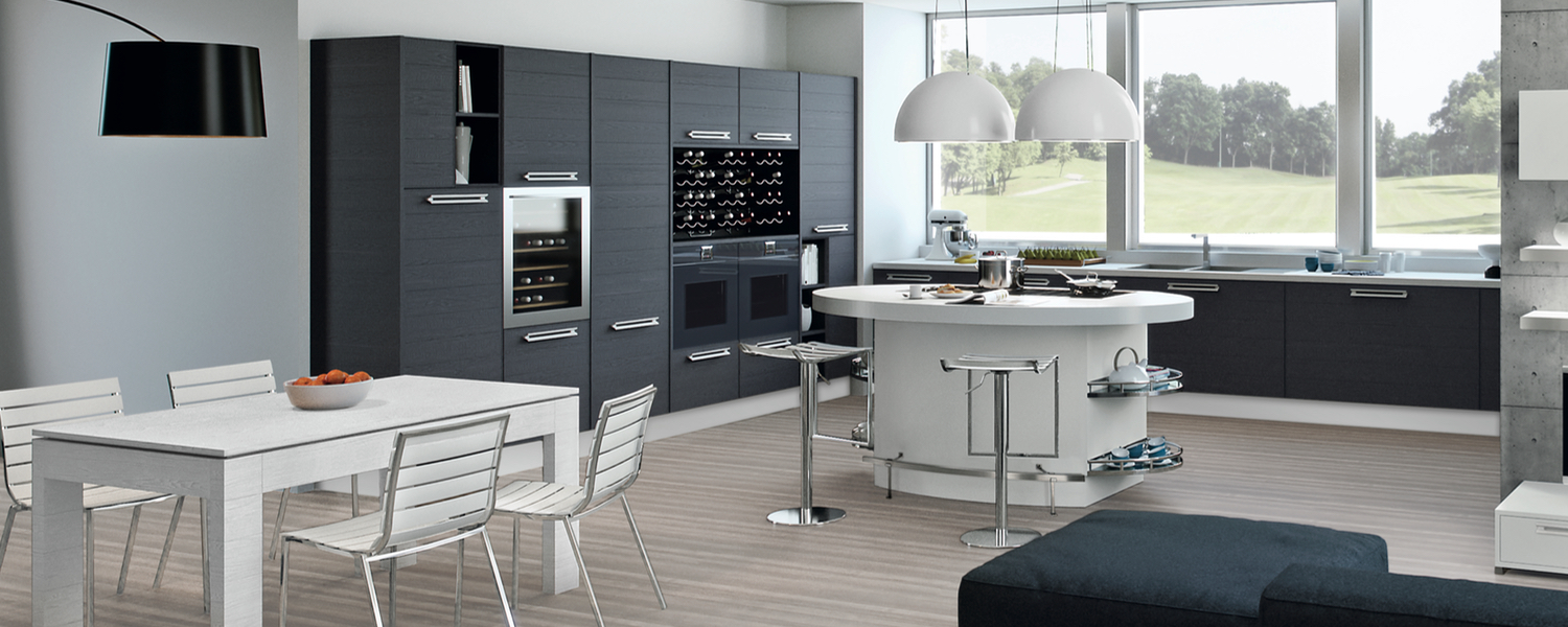 Am nagement cuisine moderne architecte d 39 int rieur aya for Amenagement cuisine carree