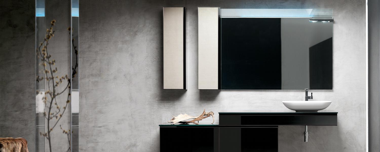 Am nagement salle de bain contemporaine avec mat riaux de for Design salle de bain contemporaine