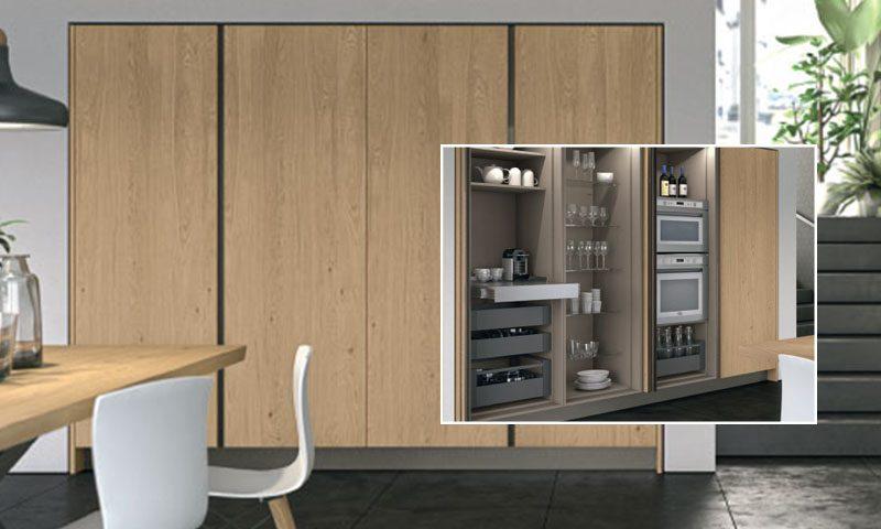 Cucine Lube optimise les espaces ! Cusine Lyon AYA HOME DESIGN