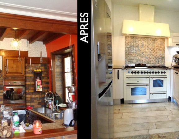 aménagement cuisine moderne
