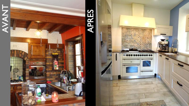 Une complète rénovation de cuisine